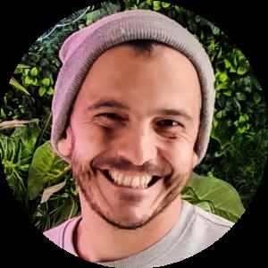 Kristof Duran - podcastmaker van Blijf Bij - trends in technologie, televisie, media, literatuur en muziek in Vlaanderen