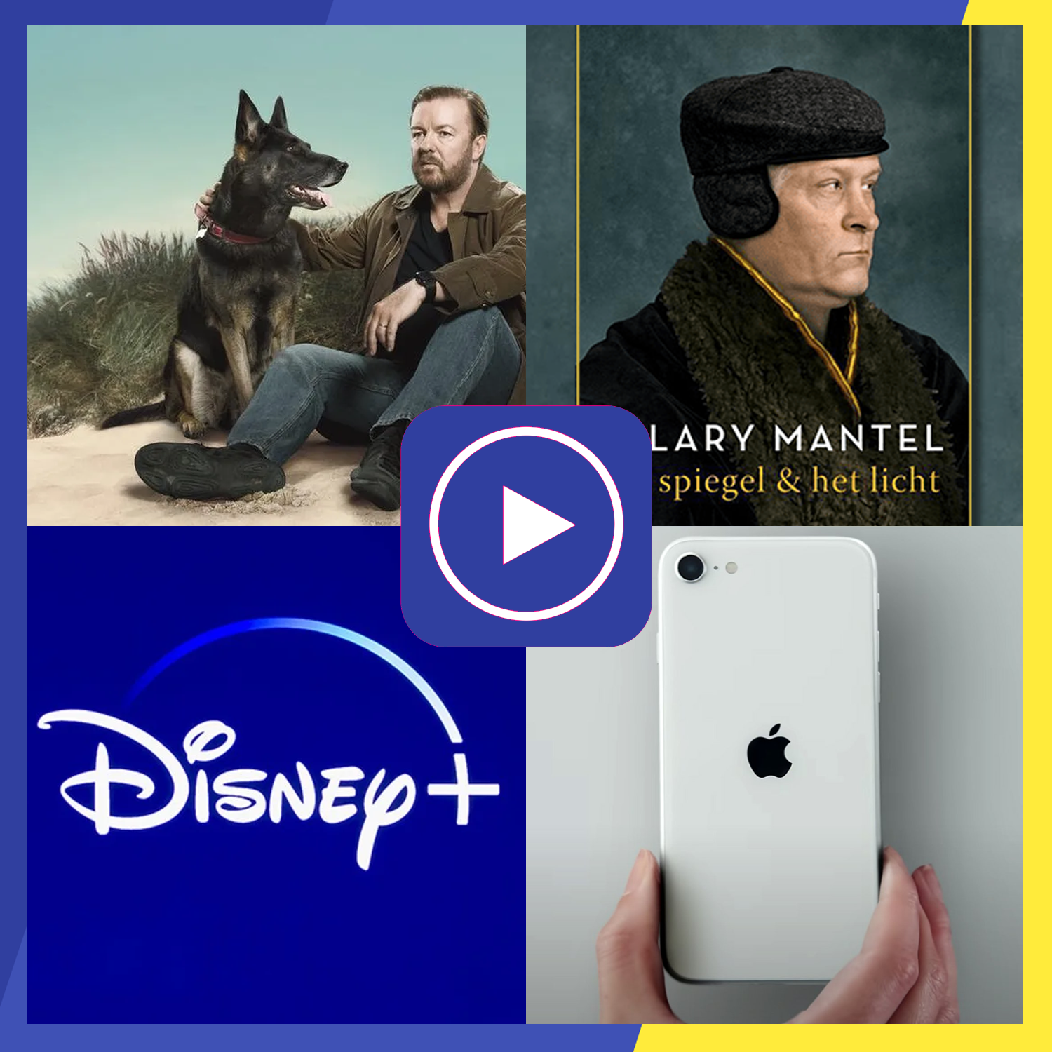blijfbij podcast vlaanderen belgie after life disney apple mantel