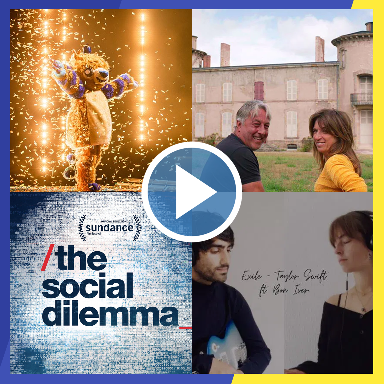 blijf bij, de podcast over chateau planckaert, the masked singer, the social dilemma en meer